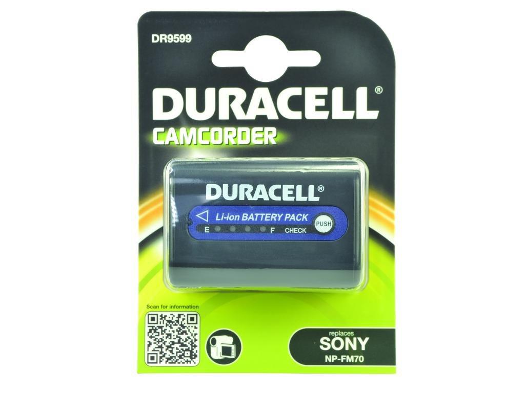 Duracell DR9599 - Batería de videocámara 7.4 V, 2800 mAh (reemplaza batería original de Sony NP-QM71)  Electrónica Revisión del cliente y más noticias