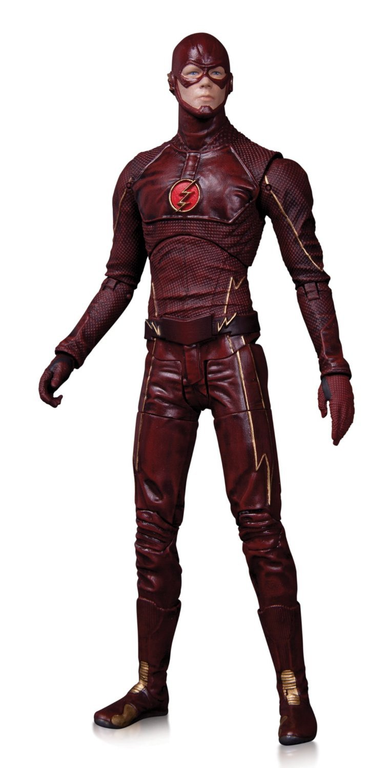 The Flash Action Figure by DC Collectibles for the CW TV show collectibles toys h03b 1 6 the crusaders war horse brown horse for teutonic knithgs europen medieval action figure