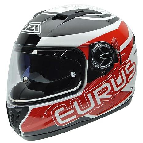 NZI 050286G716 Eurus Graphics Sporty, Casque de Moto, Taille XXL Multicolore