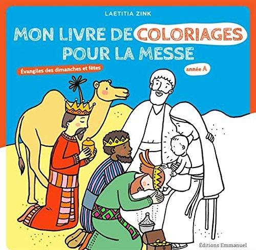 Mon livre de coloriage pour la messe