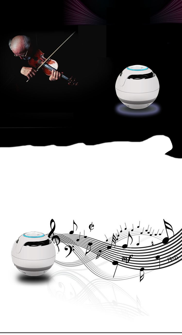 Karnotech® Mini Portable Bluetooth Hi-Fi Super Bass Speaker, White , for iPhone iPod iPad, Samsung Galaxy mymei best price new portable 3 5mm pillow speaker for mp3 mp4 cd ipod phone white