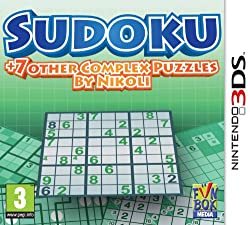 Sudoku + 7 other Complex Puzzles by Nikoli /3DS