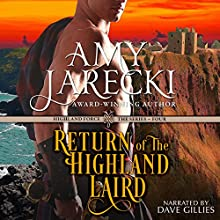 Return of the Highland Laird: A Highland Force Novella, Book 4 (       UNABRIDGED) by Amy Jarecki Narrated by Dave Gillies