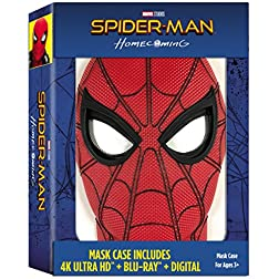 Spider-Man: Homecoming (Exclusive Mask Case) [4K Ultra HD + Blu-ray]