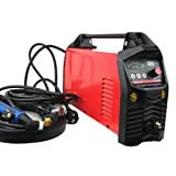 Aluminium Welder, ACDC TIG Welding Machine 200A, Digital Control AC/DC Pulse TIG/MMA CE Approved Professional IGBT Inverter TIG Welding (Color: Red)