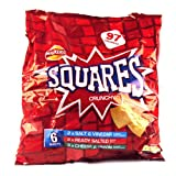 Walkers Square Crisps Assorted 6 Pack 150g