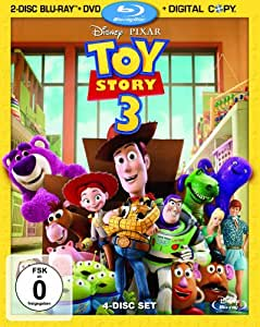Toy Story 3  (+ DVD) (+ Bonus-Blu-ray) (+ Digital Copy Disc) [Alemania] [Blu-ray]