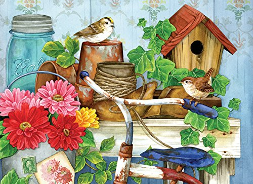 The Old Garden Shed pc Jigsaw Puzzle