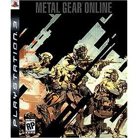 Metal Gear Online'in kapak resmi ve çıkış tarihi Amazon.com'da !