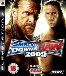 Smack Down Vs Raw 2009 (PS3)