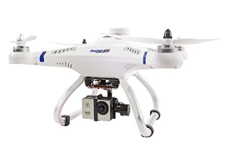 XCiteRC 15001600-drone quadrocopter radio commandée à 400, rocket, gPS, et rTF brushless gimbal full-hD caméra d'action mode 2