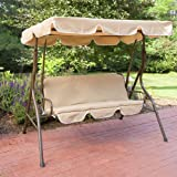Ginger Cove 2 Person Canopy Swing Size - 67L x 43W x 61H in.