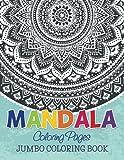 Mandala Coloring Pages: Jumbo Coloring Book