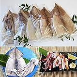 真いか一夜干し5枚 ふっくらスルメイカの一夜干し。かるく炙り七味マヨネーズでおつまみに。イカの天ぷらやフライなどでごはんのおかずにも!