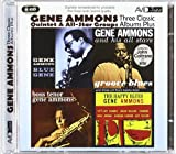 Three Classic Albums Plus (Groove Blues / Boss Tenor / Blue Gene) Gene Ammons