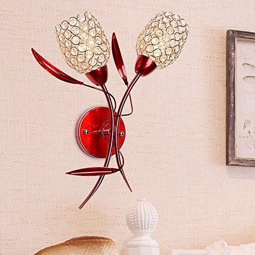 Lampe de mur du salon minimaliste Creative Crystal Applique mur