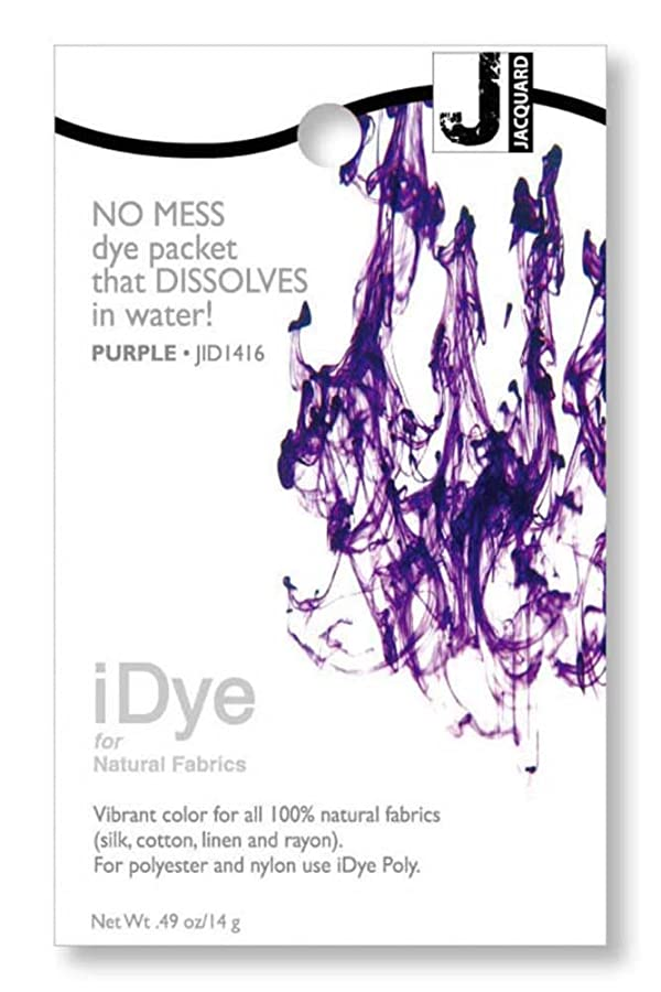 Jacquard iDye Fabric Dye 14 Grams-Purple (Color: Purple)