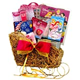 Disney Princess Christmas Gift Basket for Girls