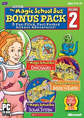Magic School Bus 3-CD Pack Volume 2