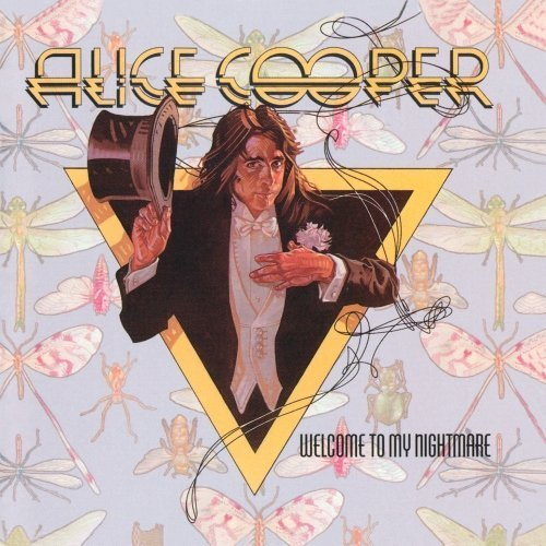 Original album cover of Welcome To My Nightmare (Expanded & Remastered) by Warner Bros Mod Afw by Alice Cooper