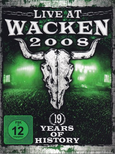 Live At Wacken 2008 (2 Dvd Digipack)