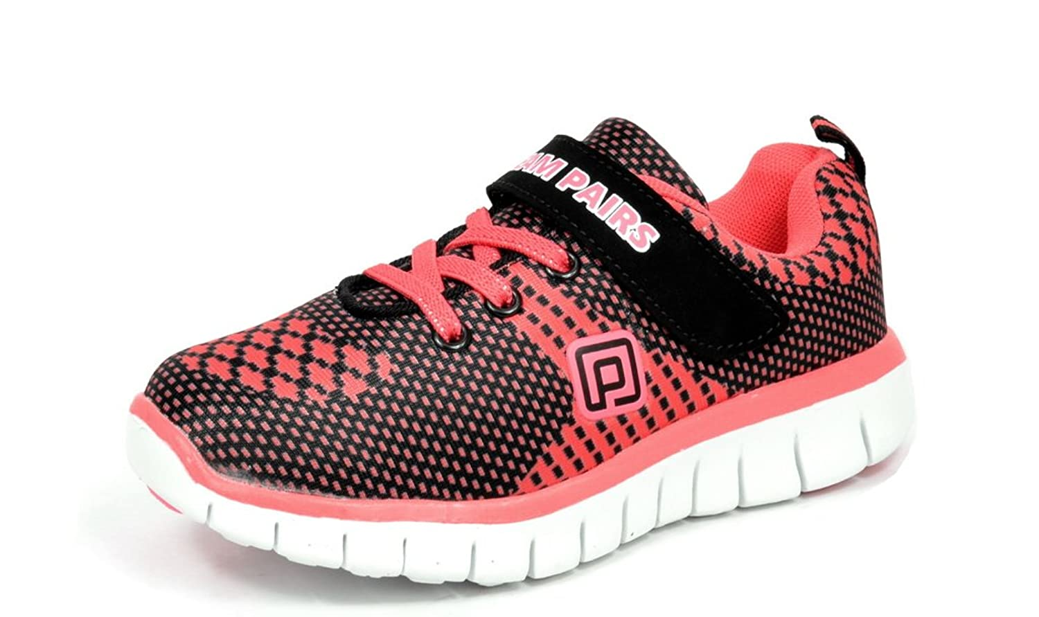 Dream Pairs 150938-K Boys & Girls Athletic Velcro Strap Outdoor Light Weight Running Sneakers Shoes (Toddler/Little Kid/Big Kid)