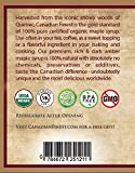 CANADIAN FINEST Maple Syrup   #1 Rated Maple Syrup on Amazon - 100% Pure Certified Organic Maple Syrup from Family Farms in Quebec, Canada - Grade B (B is the Best!) - Lifetime Guarantee