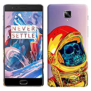 Theskinmantra Skull Space back cover for OnePlus 3/OnePlus Three/1+3