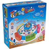 Prextex Fishing Game- Deluxe Fishing Game with Lights and Sound