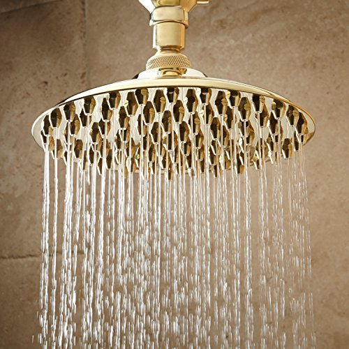 "12/"" Bostonian Rainfall Nozzle Shower Head 6/"" Ceiling Arm Polished Nickel"