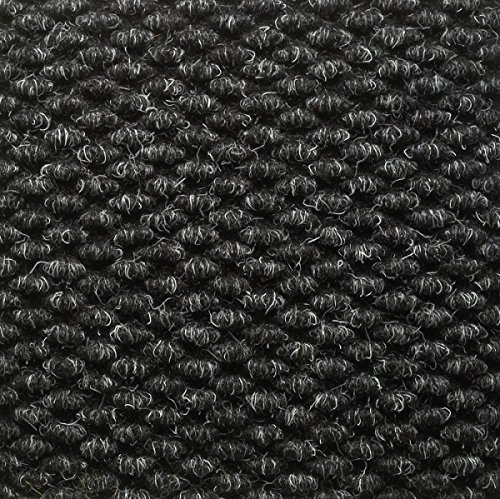 Mats Inc. Berber Entrance Mat with Edging, 3' x 5', Charcoal (Commercial Welcome Mat compare prices)