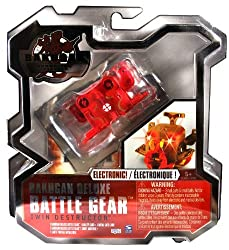 Spin Master Year 2010 Bakugan Gundalian Invaders Deluxe Electronic Battle Gear Set - Double Cannon T