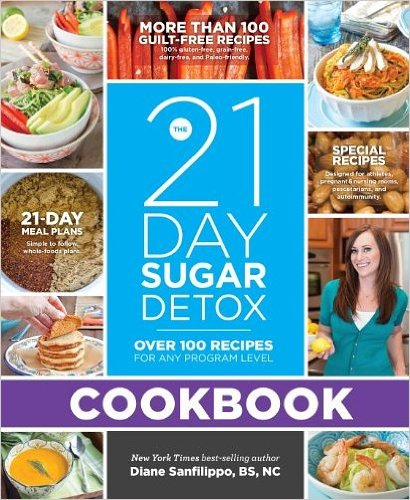 The 21-Day Sugar Detox Cookbook: Over 100 Recipes For Any Program Level (Paperback) - Common