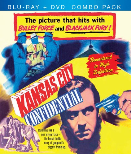 Cover art for  Kansas City Confidential Blu-Ray + DVD Combo Pack