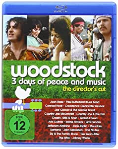 BD * BD Woodstock - 3 Days of Peace and Music [Blu-ray] [Import allemand]