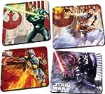 Star Wars 4 Pc. Wood Coaster Set