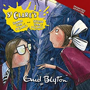'Summer Term at St Clare's' & 'Second Form at St Clare's' Audiobook