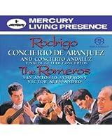 Rodrigo : Concierto de Aranjuez (Concerto d'Aranjuez) / Concierto Andaluz (Hybrid SACD)
