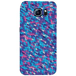 Lavender & Pink Design - Mobile Back Case Cover For Samsung Galaxy S6 Edge