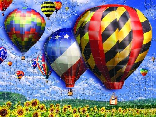 Mega Puzzles Hot Air Balloons 3D Breakthrough Puzzle