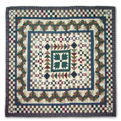 Patch Magic Qkbcre Bear Creek Quilt, King, 105-Inch By 95-Inch front-474715