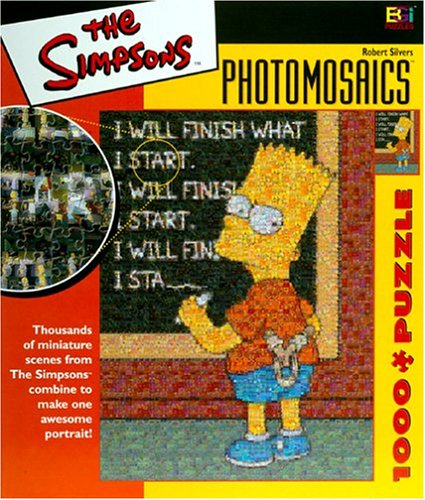 Cheap Buffalo Games Simpsons Photomosaic Bart Jigsaw Puzzle 1026pc (B00009XO7Z)