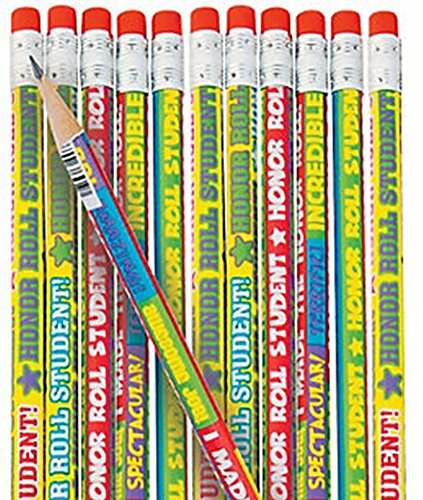 Honor Roll Pencils (2 Dozen) School Supplies/Stationary