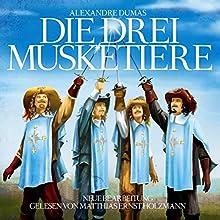 Die drei Musketiere Hörbuch von Alexandre Dumas Gesprochen von: Matthias Ernst Holzmann