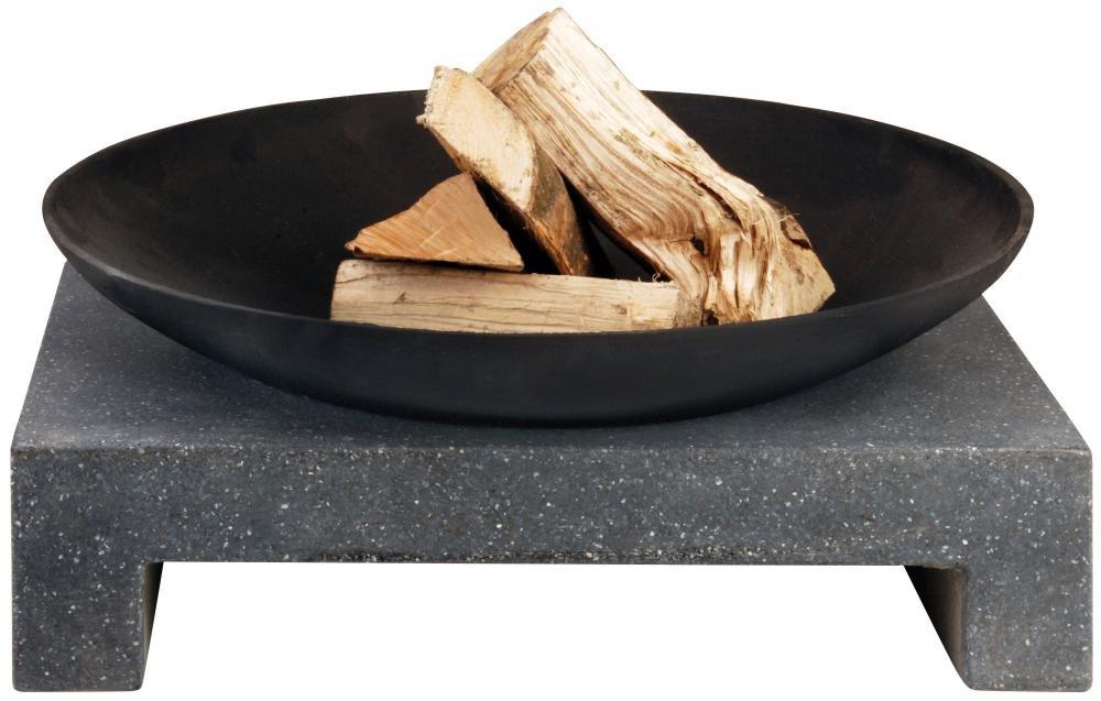 Esschert Feuerschale Granito eckiger Sockel, FF135  BaumarktKundenbewertung und weitere Informationen