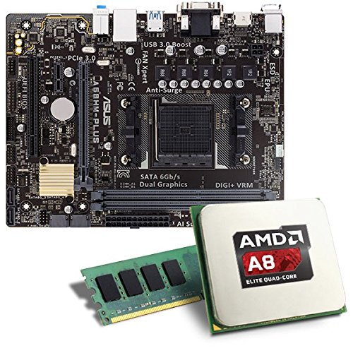 AMD-A8-7600-MSI-A68HM-GRENADE-Mainboard-Bundle-CSL-PC-Aufrstkit-AMD-A8-7600-APU-4x-3100-MHz-Radeon-R7-GigLAN-71-Sound-USB-30-Aufrstset-PC-Tuning-Kit