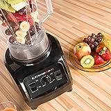 Ultratec Power Mixer 2.0 Liter / BPA-FREI / 1500 Watt / 32.000 U/min. / 6 Edelstahlmesser / inkl. Stößel & Smoothie Rezeptbuch -