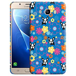 Theskinmantra Buldog stare Back cover for Samsung Galaxy J7 (2016 Edition)