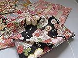7 pieces Japanese Wrap cloth FUROSHIKI, embossing made in Japan New sakura -2