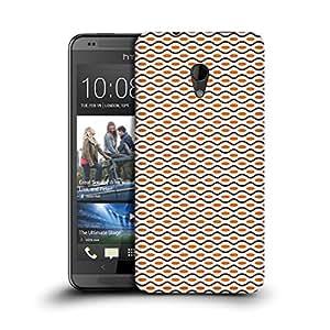 MobileGlaze Designs Dot and line pattern Wave Hard Back Case Cover for HTC DESIRE 700